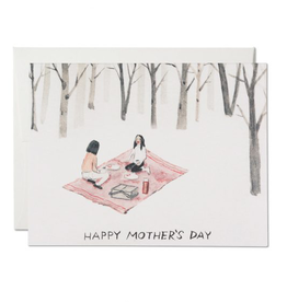Red Cap Cards Woodsy Mom Card