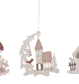 Dregeno Dregeno Winter House Ornament