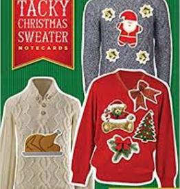 Raincoast Books Raincoast Books Tacky Christmas Sweater Notecards