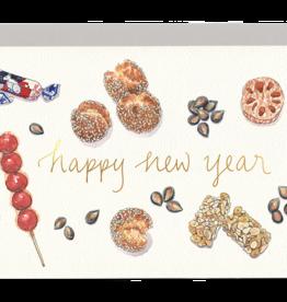 Gotamago New Year Treats Monarch Card