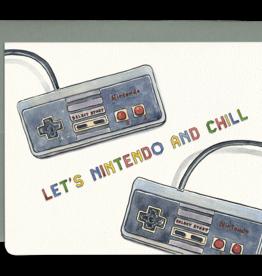 Gotamago Nintendo And Chill Card
