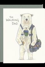 Gotamago Gotamago Walking Dad Card