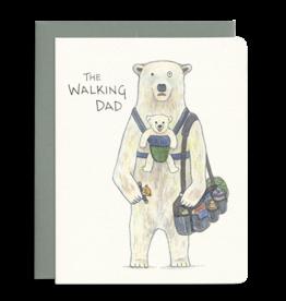 Gotamago Walking Dad Card