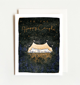 Homework Letterpress Wedding Tent Card