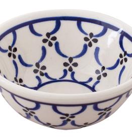 Redecker Ceramic Shaving Soap Bowl-Light Pattern