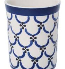 Redecker Redecker Ceramic Beaker-Light Pattern