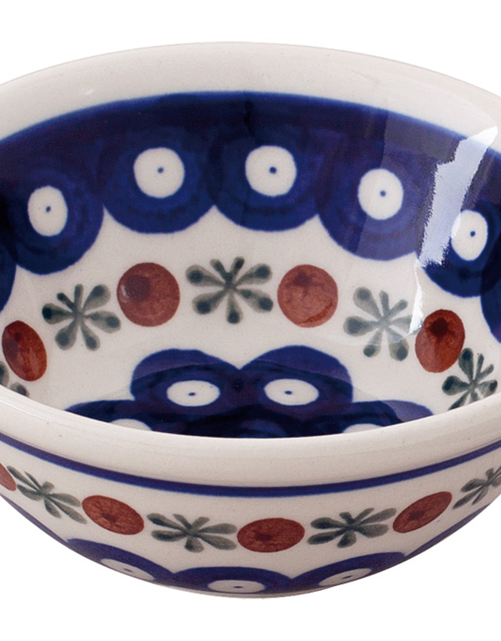 Redecker Redecker Ceramic Shaving Soap Bowl-Dark Pattern