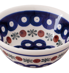 Redecker Ceramic Shaving Soap Bowl-Dark Pattern
