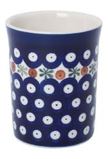 Redecker Redecker Ceramic Beaker-Dark Pattern