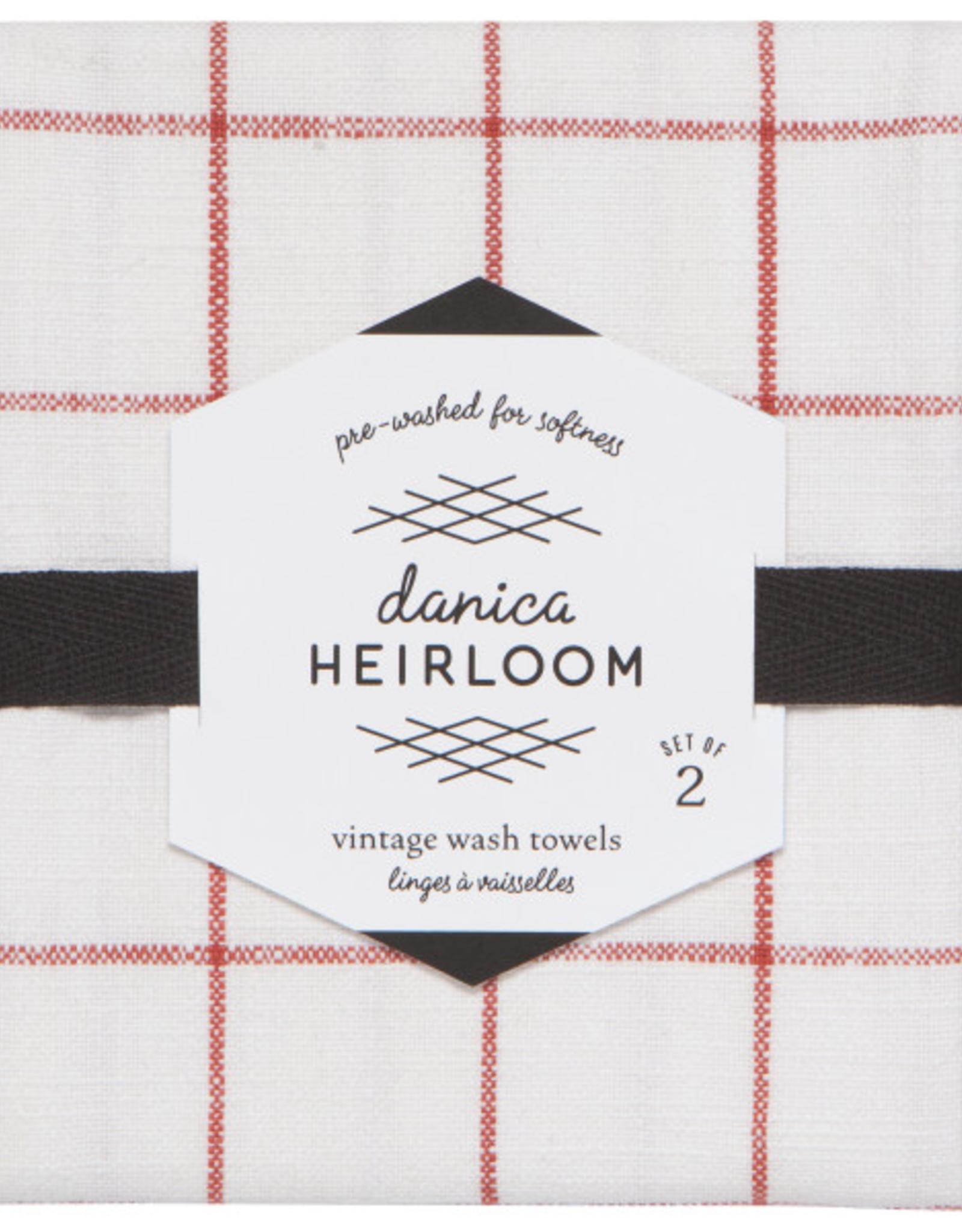 Danica Danica Heirloom Tea Towel-Clay Set 2