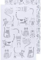 Danica Danica London Gray Tea Towel-Set 2