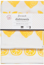 Danica Danica Lemon Tea Towel-Set 2