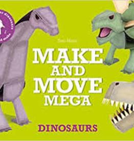 Raincoast Books Raincoast Books Make And Move Mega Dinosaurs