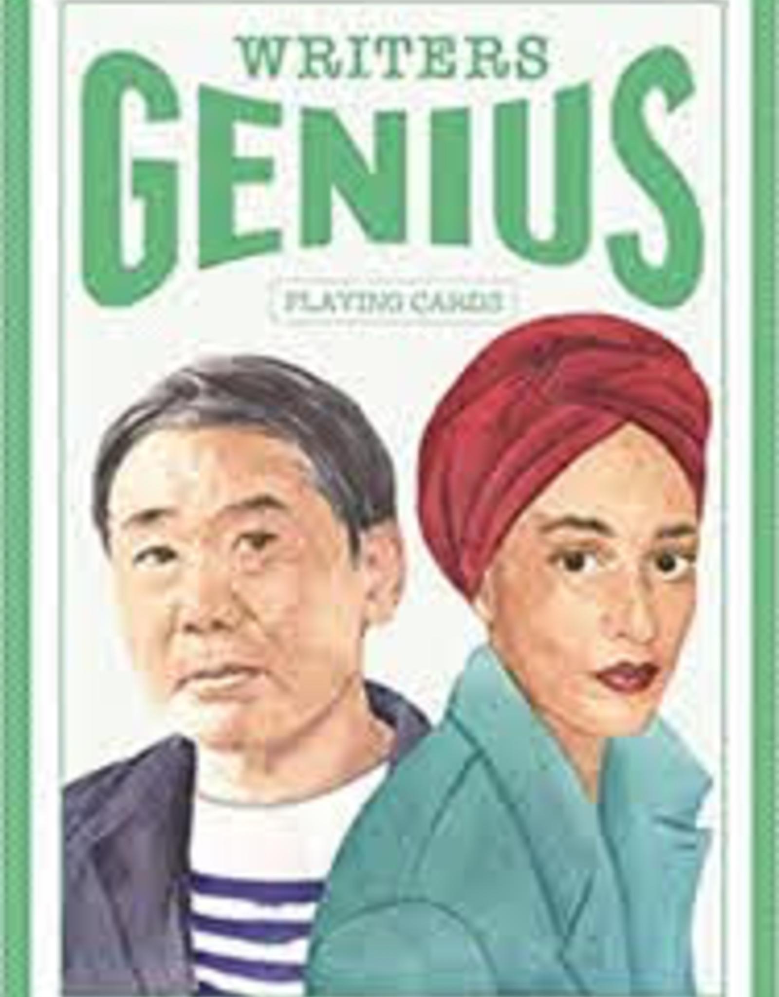 Raincoast Books Raincoast Books Genius Writers Playing Cards
