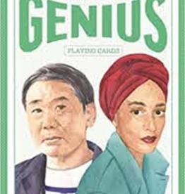 Raincoast Books Writers Genius Playing Cards