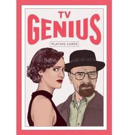 Raincoast Books TV Genius Playing Cards