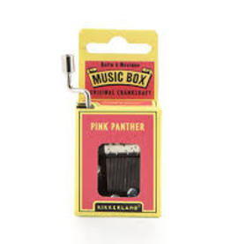 Kikkerland Kikkerland Music Box-Pink Panther