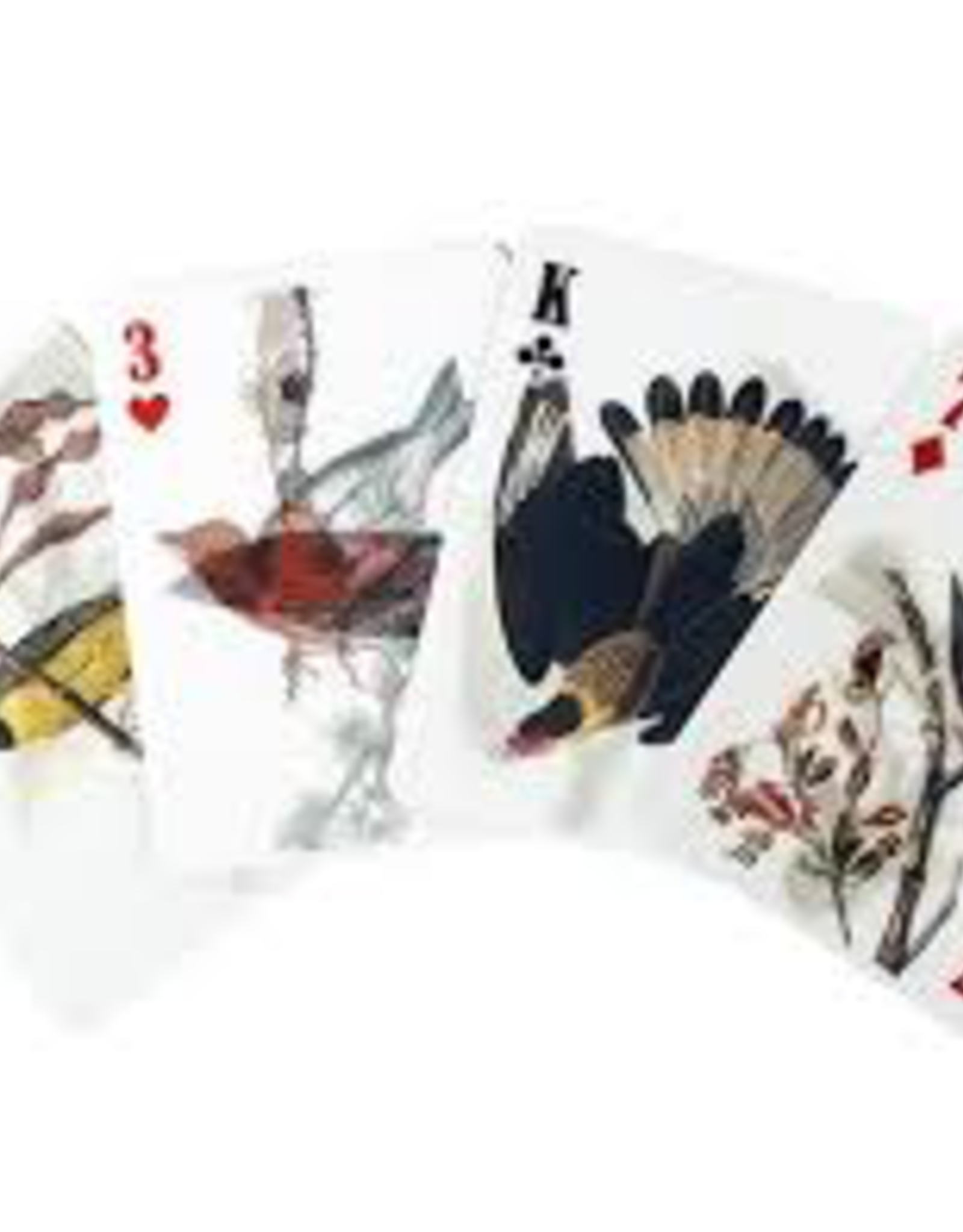 Kikkerland Kikkerland 3D Bird Playing Cards
