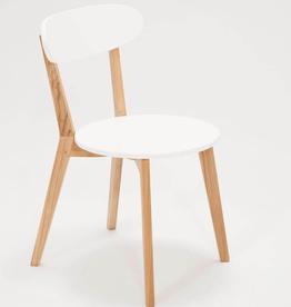EQ3 EQ3 Tate Dining Chair-White
