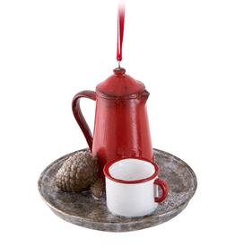Abbott Abbott Coffee Pot And Cup Ornament
