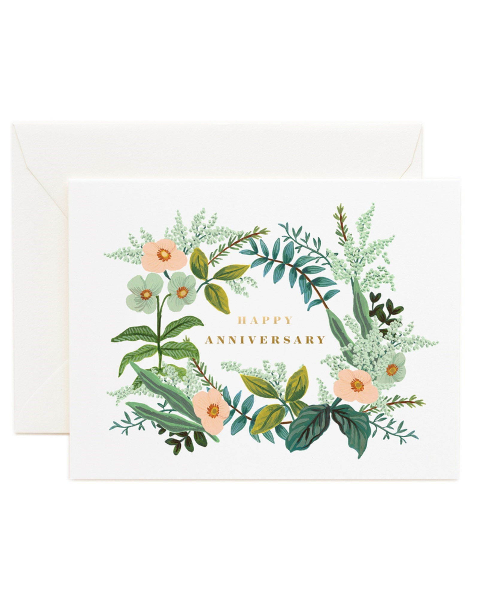 Rifle Paper Rifle Paper Anniversary Bouquet Card