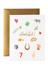 Rifle Paper Rifle Paper Good Luck Charms Card