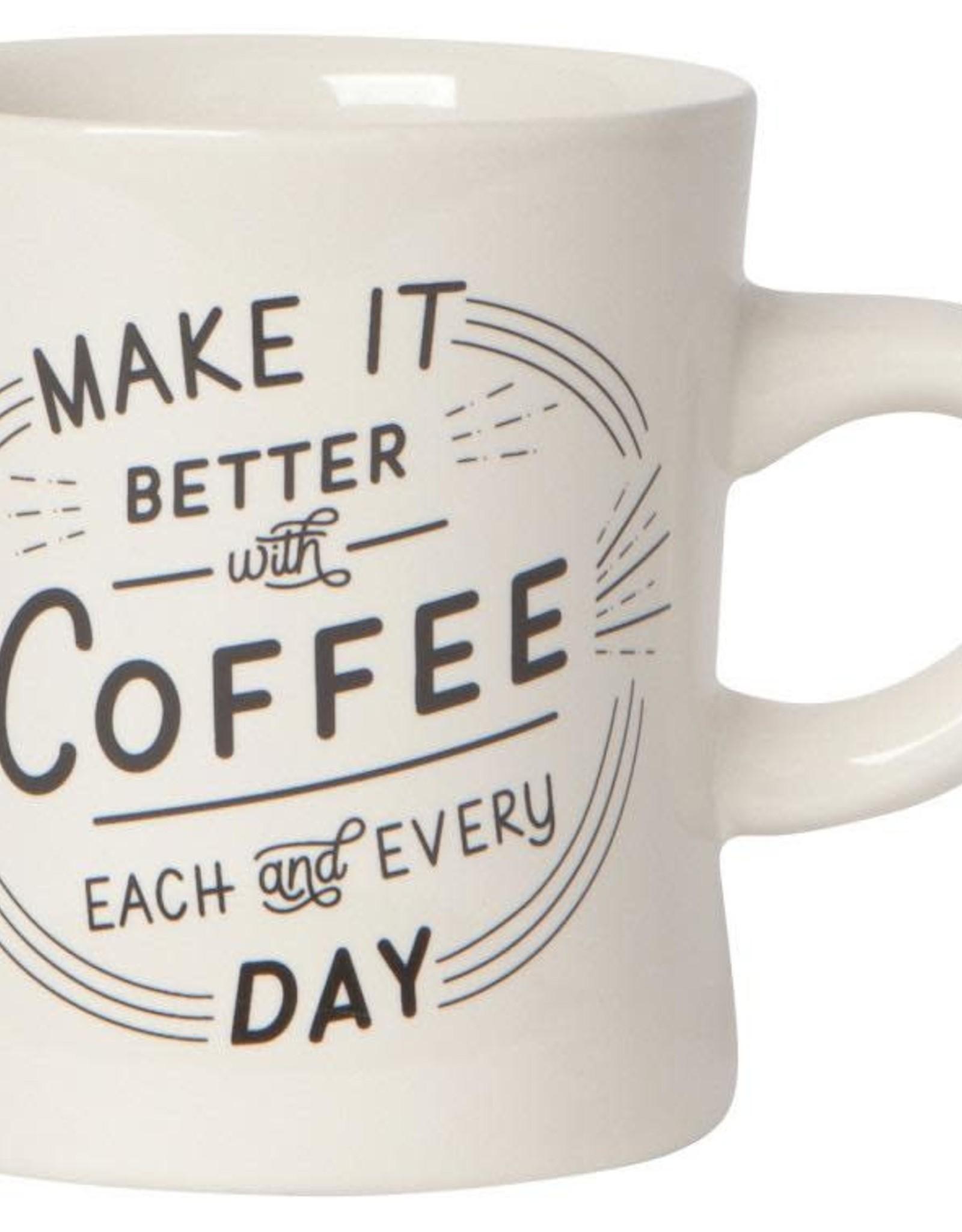 Danica Danica Better With Coffee Mug