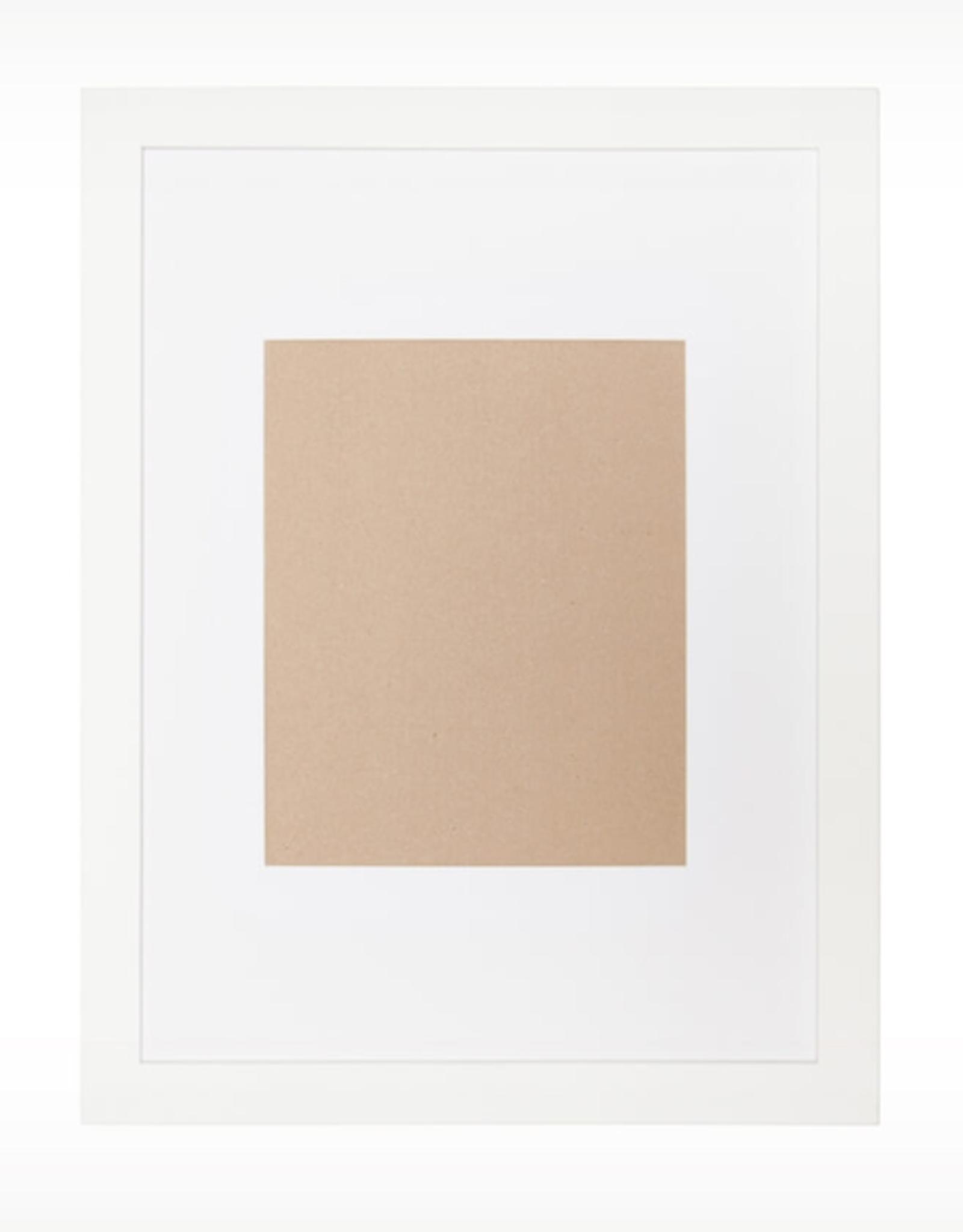 EQ3 EQ3 Edge Picture Frame-White Large