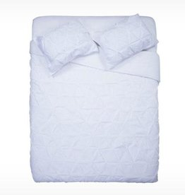 EQ3 EQ3 Moncton Duvet-Queen-White