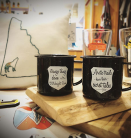 The Collective Good The Collective Good Enamel Mug-Arctic Trails