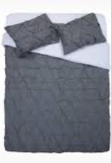 EQ3 EQ3 Moncton Duvet-King-Charcoal