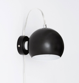 EQ3 EQ3 Ball Wall Lamp-Black