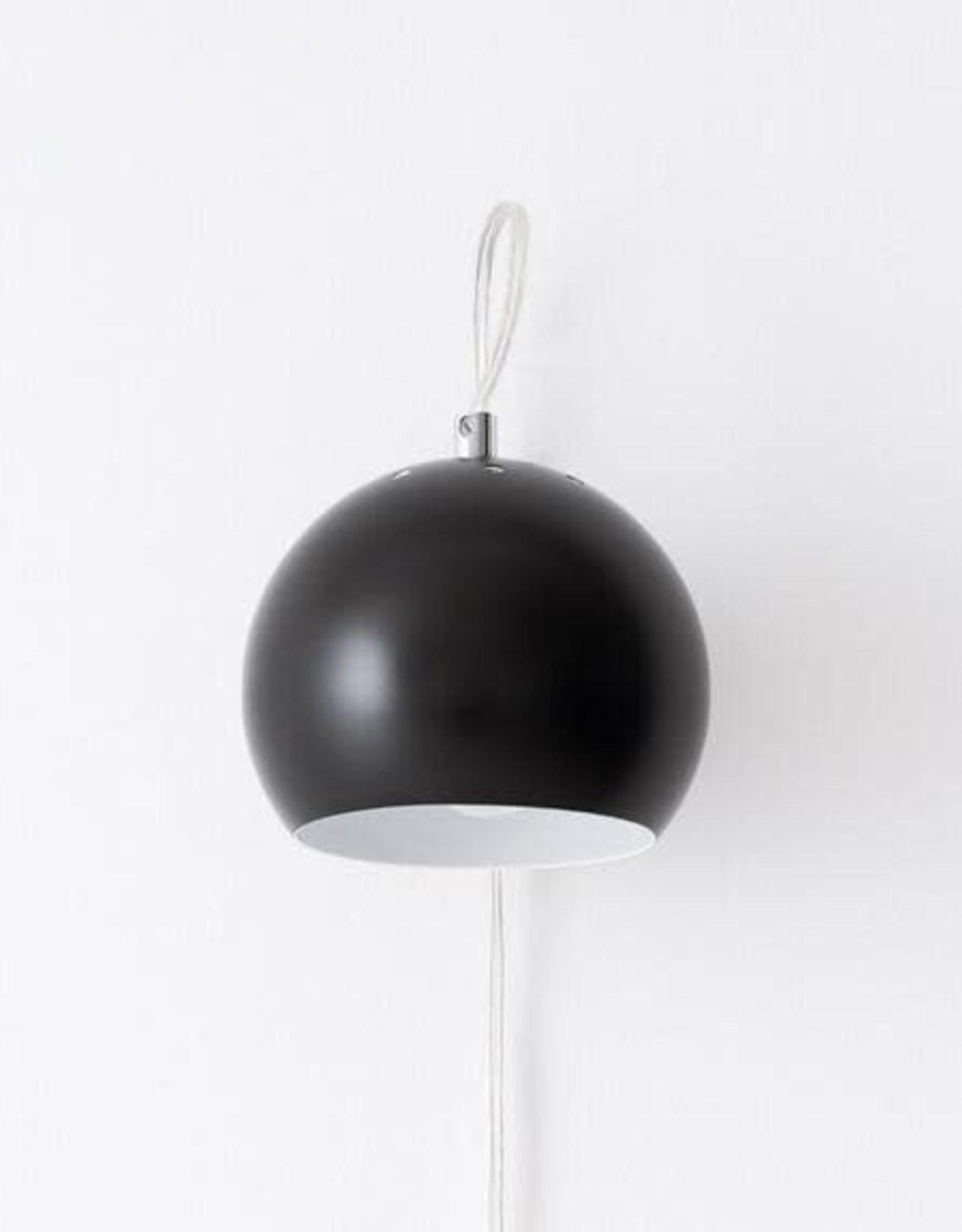 EQ3 EQ3 Ball Wall Lamp-Black