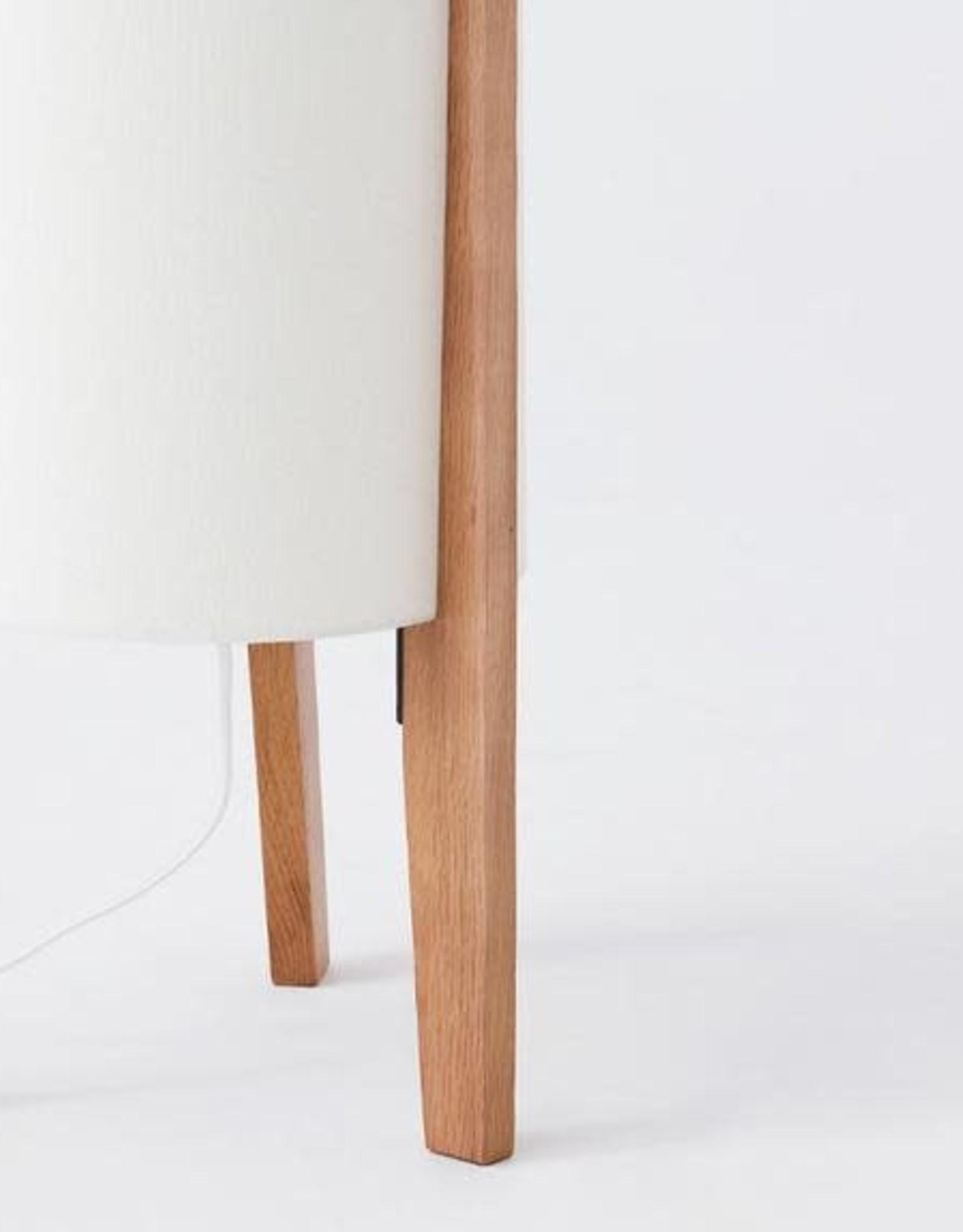 EQ3 EQ3 Tube Floor Lamp - Oak