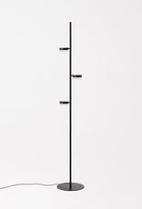 EQ3 EQ3 Row Floor Lamp - Black