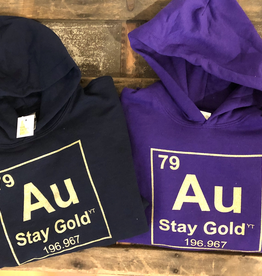 The Collective Good The Collective Good Stay Gold Hoodie-Youth
