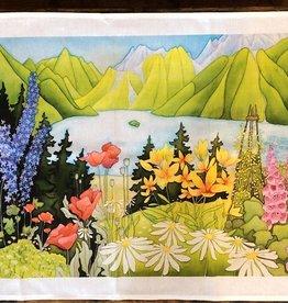 The Collective Good The Collective Good Summer Garden Tea Towel