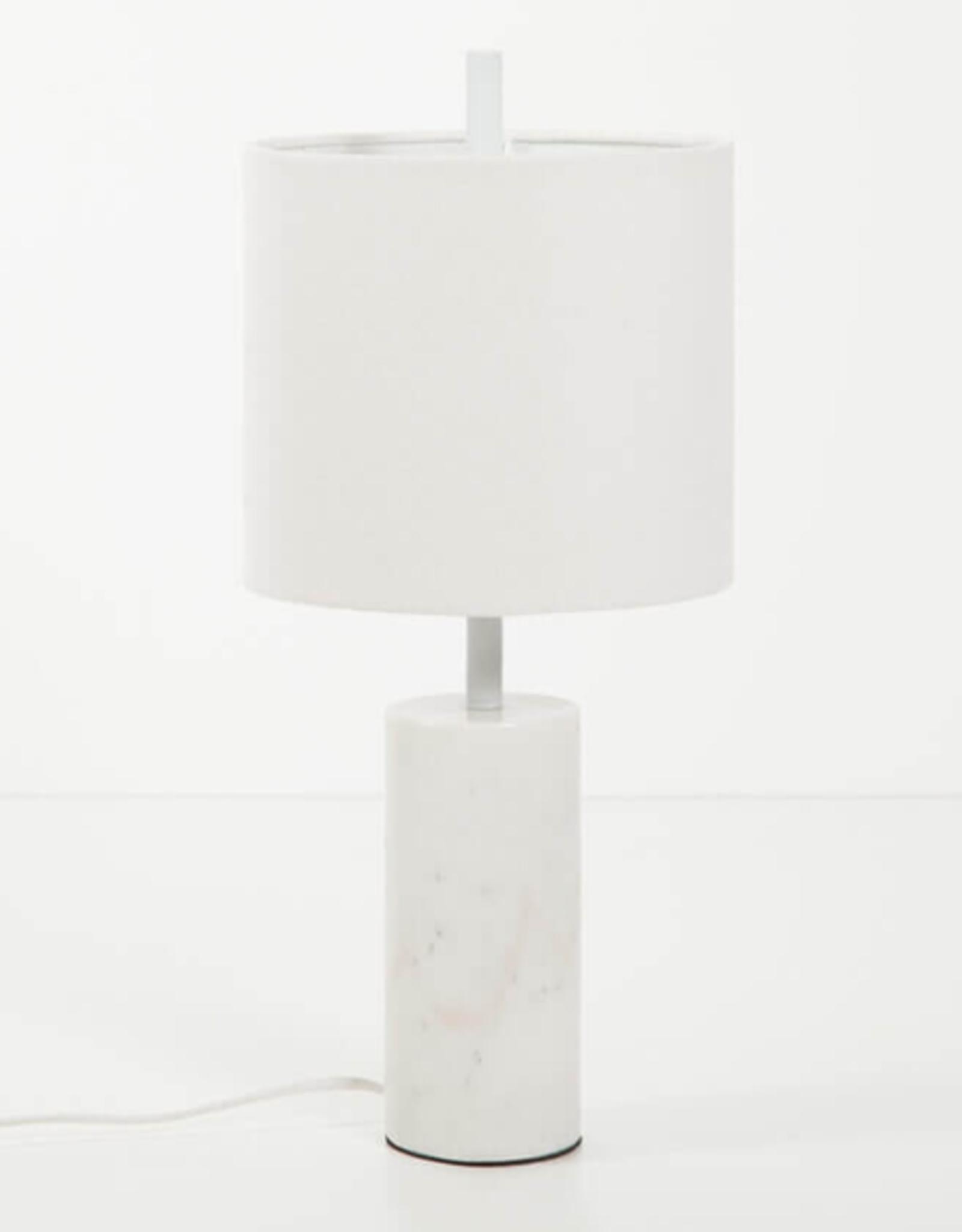 EQ3 EQ3 Drum Table Lamp-White