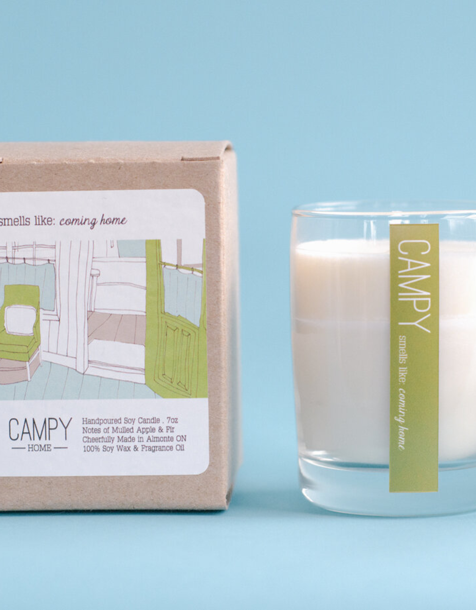 Campy Home Campy Home Coming Home Candle