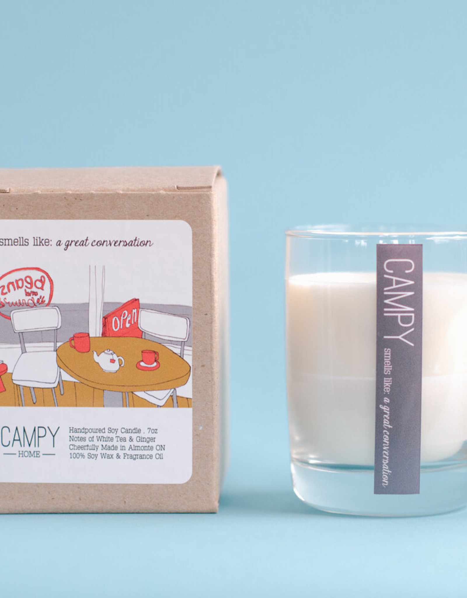 Campy Home Campy Home Great Conversation Candle