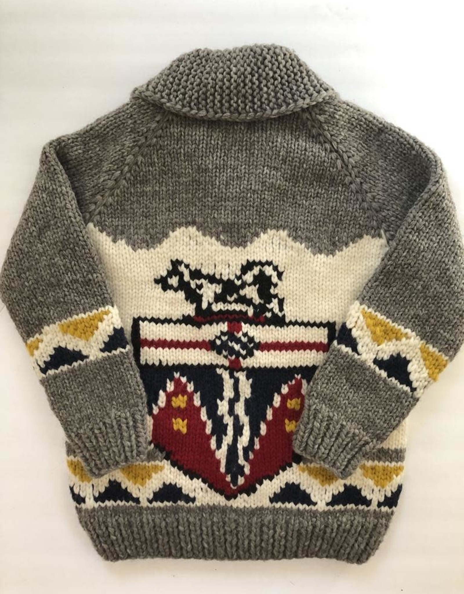 The Collective Good The Collective Good Yukon Coat of Arms Sweater
