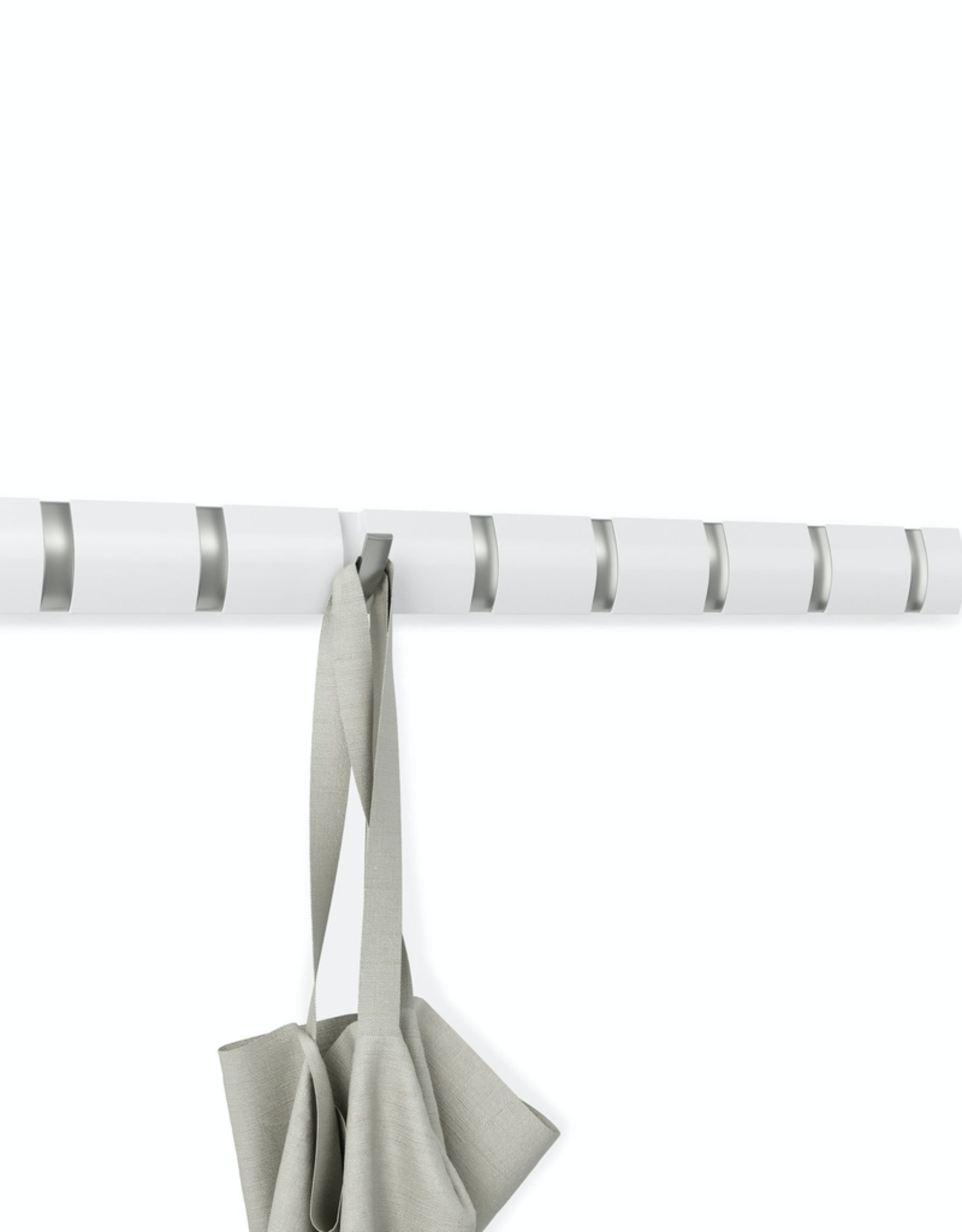 Umbra Umbra Flip 8 Hook-White