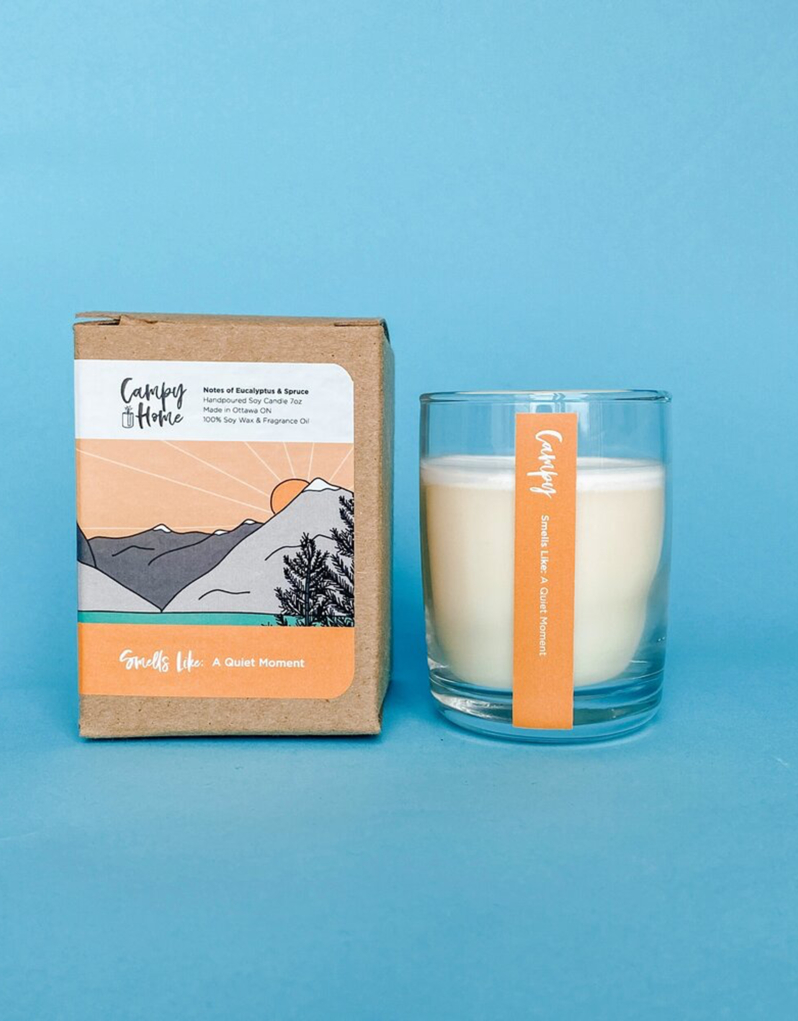 Campy Home Campy Home Quiet Moment Candle