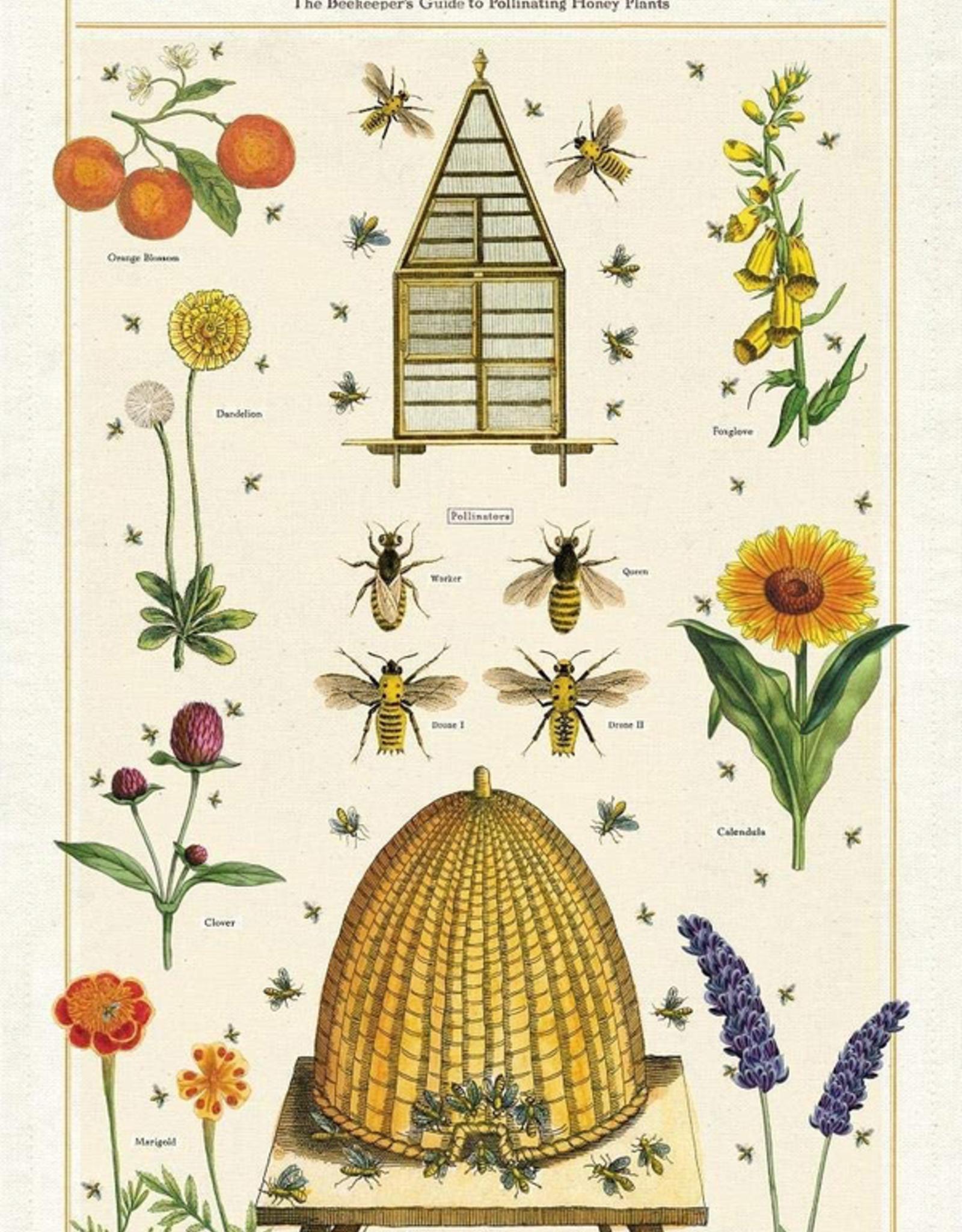 Cavallini Papers Cavallini Papers Bees And Honey Tea Towel