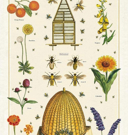 Cavallini Papers Cavallini Papers Bees And Honey Tea Towel