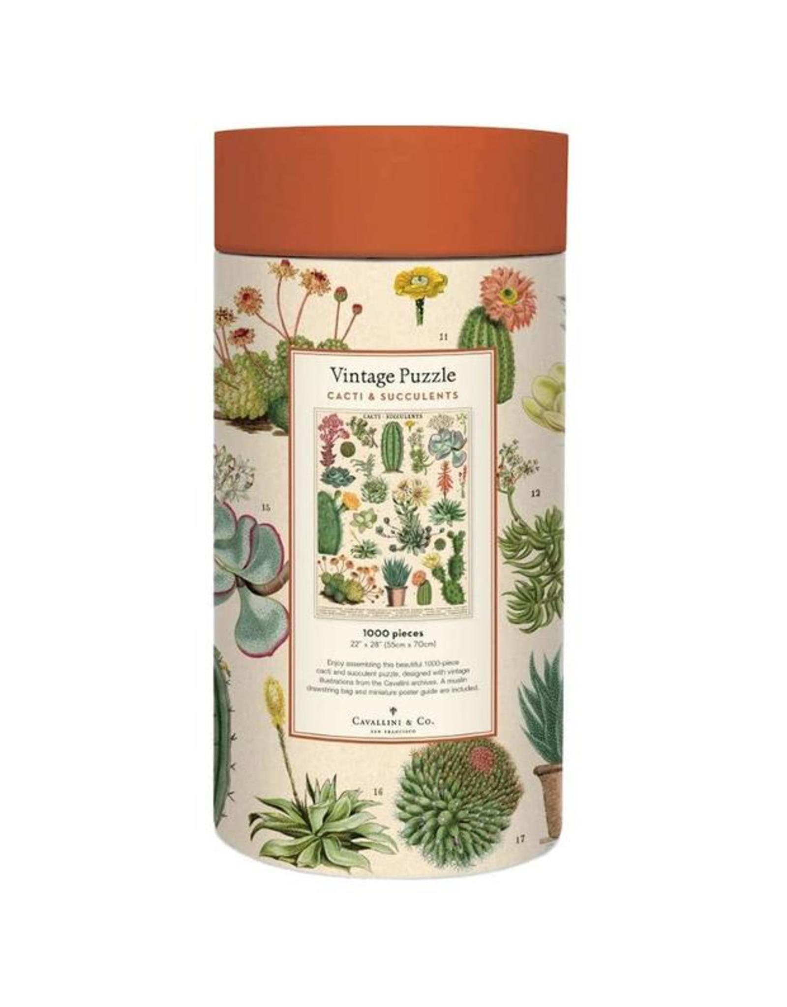 Cavallini Papers Cavallini Papers Cacti And Succulents Puzzle