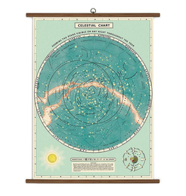 Cavallini Papers Celestial School Chart