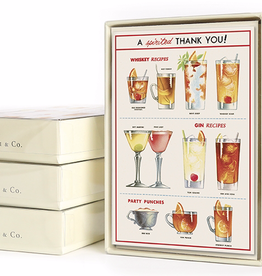 Cavallini Papers Cheers Cards-Boxed Set 10