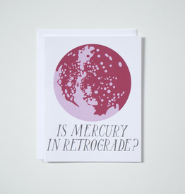 Banquet Workshop Mercury Retrograde Card