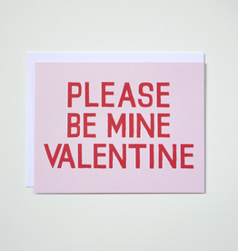 Banquet Workshop Please Be Mine Valentine Card